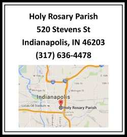 Banquet - Holy Rosary