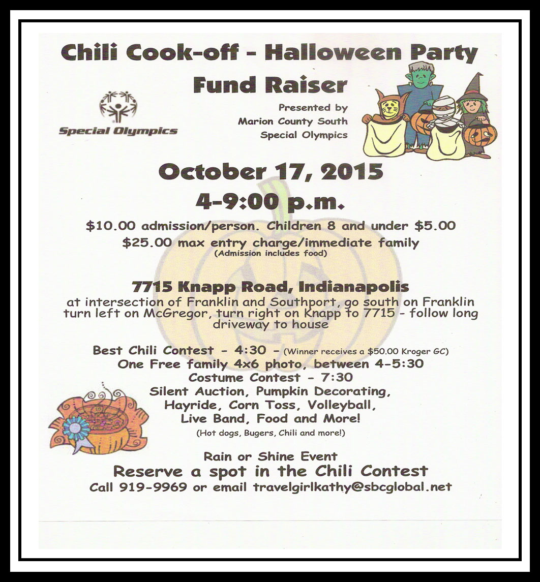 chili cook-off / halloween party / silent auction – southside storm