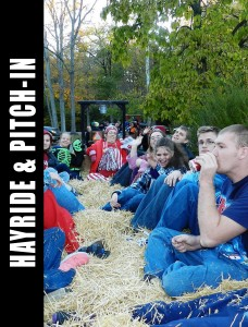HAYRIDE & PITCH-IN